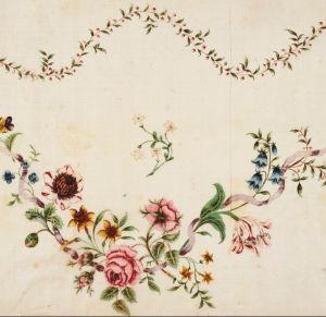 painted silk