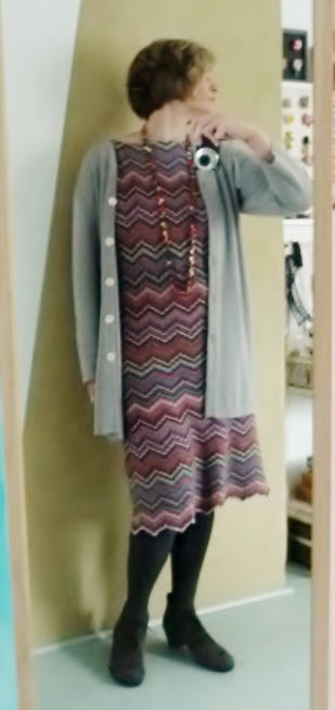 Downton Abbey Missoni Kleid – Textile Geschichten