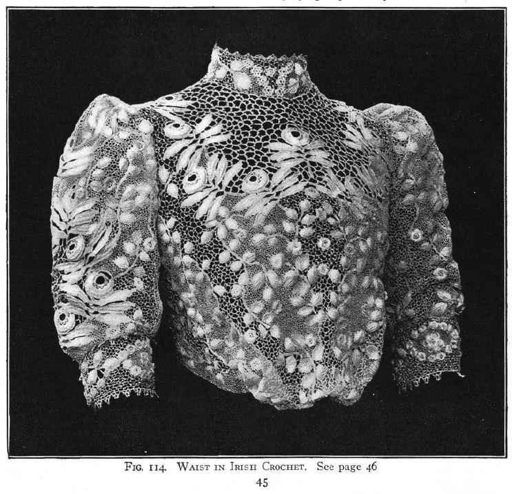 Stoffspielerei im Oktober: Irische Häkelei – Textile Geschichten