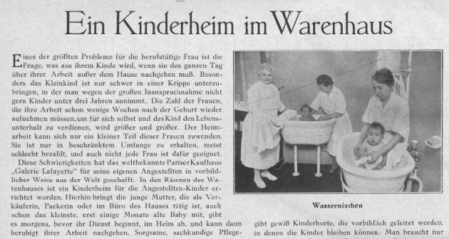 1928FrauenIllustrierteKrippe