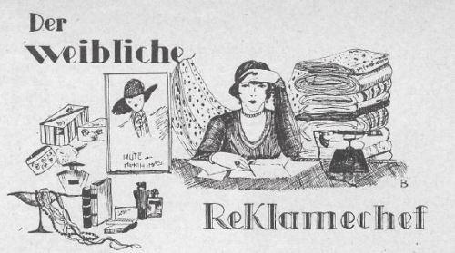 1928FrauenIllustrierteReklamechef