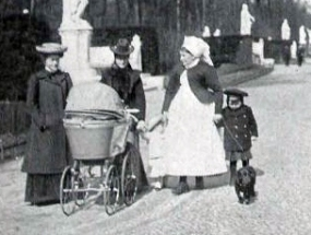 berliner-leben-1905tier-kindermaedchen