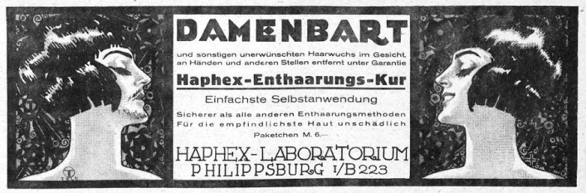 1926damenbart