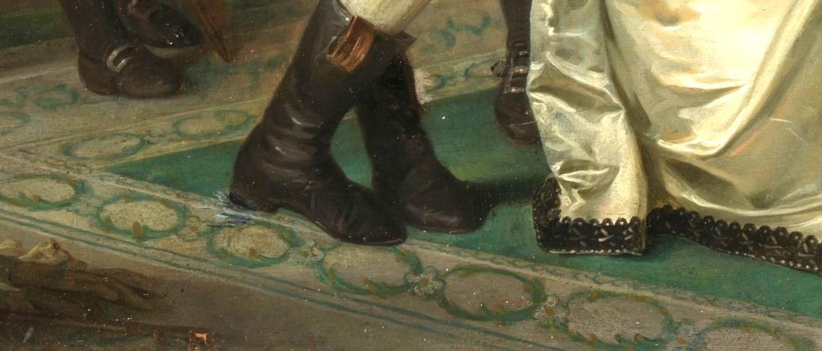 Schuhe aus im #SalonEuropa?